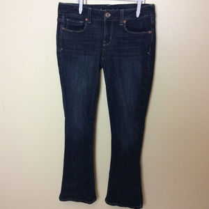 American Eagle Jeans Stretch Skinny Kick Bootcut